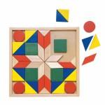 Drewniana mozaika 44 el.