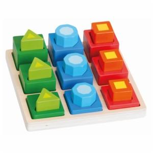 Układanka sorter 18 elementów