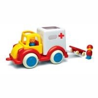 Ambulans z figurkami duży
