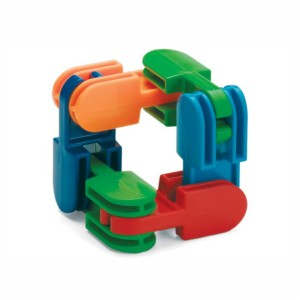 Przegubowe klocki plastikowe Clack